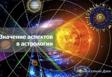 Аспекты планет. Что это такое?