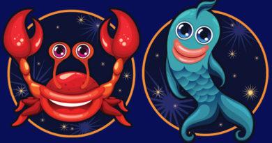 рыбы и рак